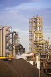 przemysł ciężki fabryczna stal obrazy stock