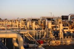 przemysł energetyczny Fotografia Stock