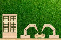 4 przemysł (0) manufaktur samochodów używać robot Zdjęcie Royalty Free