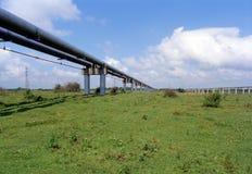 przemysł naturalnego oleju gazowego Fotografia Royalty Free