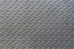 Przemysłowa ściana z diamentowym stal wzoru tłem obrazy royalty free