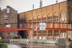 Przemysłowa architektura Podsycam na Trencie, Staffordshire, UK obraz stock