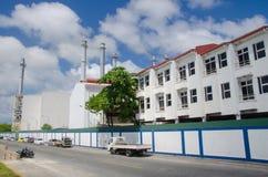 Przemysłowa część miasteczko samiec Obrazy Stock
