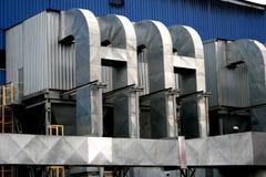 Przemysłowy budynek Obrazy Royalty Free
