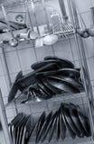 przemysłowa kuchnia zdjęcie stock