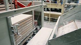 Przemysłowa maszyna robi cukierkom Cukierek fabryka zbiory
