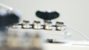 Przemysłowa maszyna robi drutom zbiory wideo