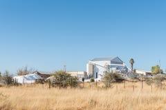 Przemysłowa roślina przy Aris blisko Windhoek Obraz Royalty Free
