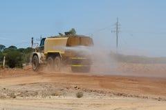 Przemysłowa wody ciężarówka zdjęcie royalty free
