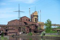 Przemysłowe pozostałości Fotografia Stock