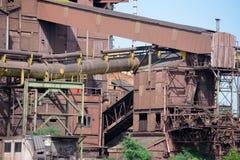 Przemysłowe pozostałości Obraz Stock