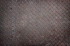 przemysłowego metalu ośniedziałe tekstury obraz stock