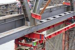 Przemysłowego przewożenia zachęcania Estradowy most, artykuł wstępny zdjęcie royalty free