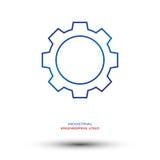 Przemysłowej inżynierii logo Obrazy Stock