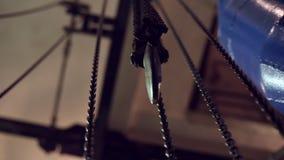 Przemysłowi połączenie łańcuchy dla dźwigników zdjęcie wideo