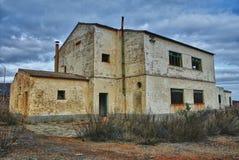 przemysłowi zaniechani budynki fotografia stock