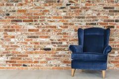 Przemysłowy ściana z cegieł i karło fotografia royalty free
