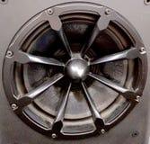 Przemysłowy głośnik z grillem zdjęcia stock