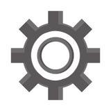Przemysłowy koła cog, przemysłu symbol Obraz Stock