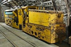 przemysłowy kopalni pociągu metro Zdjęcia Stock