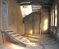 przemysłowy lekki romantyczny pokój zdjęcie stock