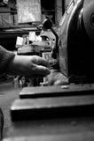 Przemysłowy maszynowy działanie A Obrazy Stock