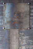 Przemysłowy metalu tło Obrazy Stock