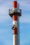 Przemysłowy mountaineering zawód Fotografia Stock