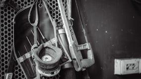 Przemysłowy narzędzie zestaw W torbie zdjęcia stock