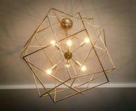 Przemysłowy oprawa oświetleniowa świecznik zdjęcie royalty free