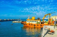 Przemysłowy połów w Tel Aviv Zdjęcia Stock