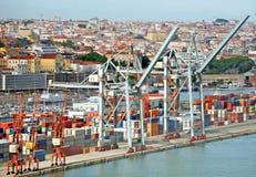 przemysłowy portowy morze zdjęcie stock