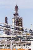 Przemysłowy rafinerii wierza Obraz Stock