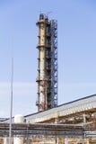 Przemysłowy rafinerii wierza Obraz Royalty Free