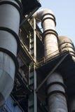 przemysłowy rurociągowy system obrazy stock