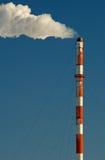 przemysłowy smokestack zdjęcie royalty free