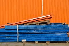 Przemysłowy tło, budowa Zdjęcie Stock