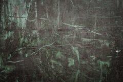 Przemysłowy tło z rdzą na starym żelazo talerzu obraz stock