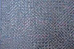 Przemysłowy twardy ciężki nierdzewny diamentowy stalowego talerza powierzchni tło obrazy stock