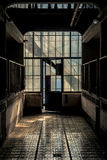 Przemysłowy wnętrze z br światłem Zdjęcie Royalty Free