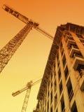 Przemysłowy wschód słońca Zdjęcia Royalty Free