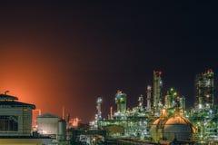 przemysłowy zakład petrochemiczny zdjęcia stock