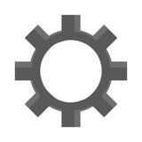 przemysłu koła cog, przemysłowa ikona Obraz Stock