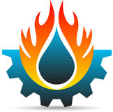 Przemysłu logo ilustracji