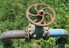 przemysłu rurociąg naftowy Zdjęcie Royalty Free