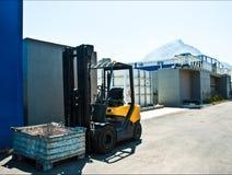 Przemysłów mechanizmów budynku budowa Fotografia Stock
