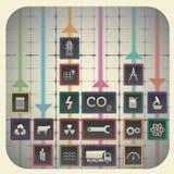 Przemysłów symbole Fotografia Stock