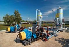 przemysł gazowy przerób Fotografia Royalty Free