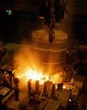 przemysł hutnictwa Zdjęcia Stock