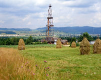 przemysł naturalnego oleju gazowego Zdjęcie Royalty Free